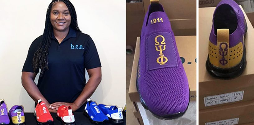 Black Woman Entrepreneur Launches Shoe Company That Caters to Sororities and Fraternities in the Divine 9