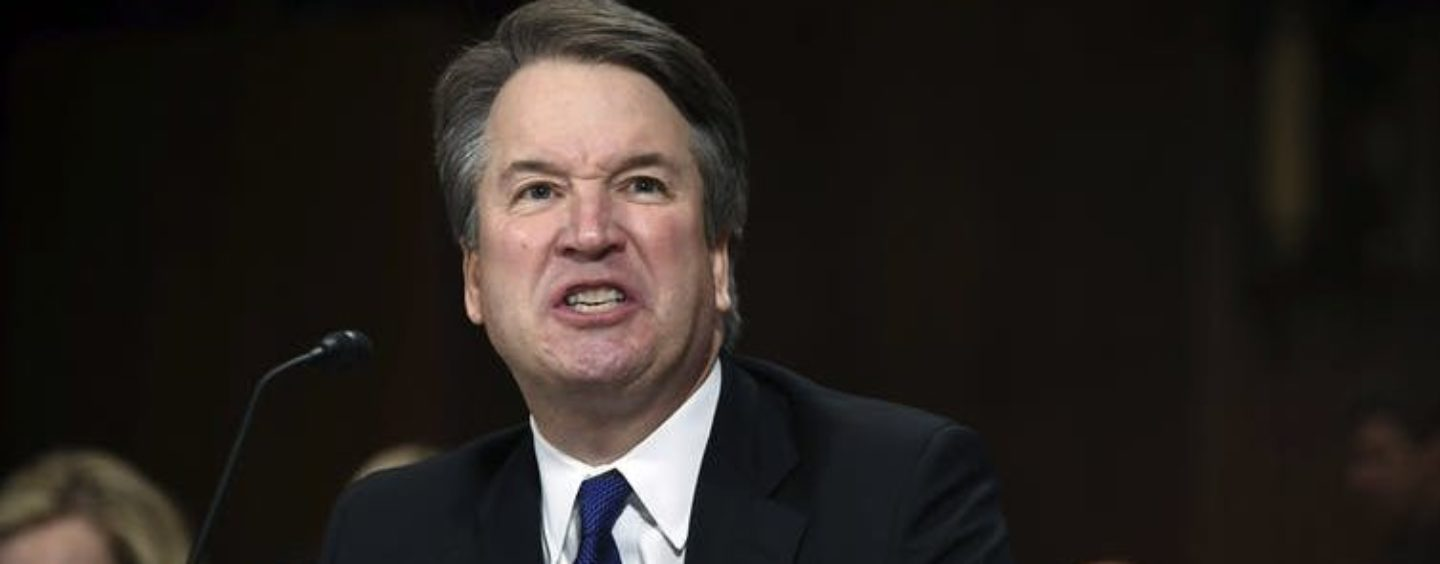 COMMENTARY: Kavanaugh Scraped from Bottom of Barrel
