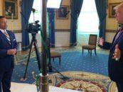 Black News Channel's Kelly Wright Interviews President Trump