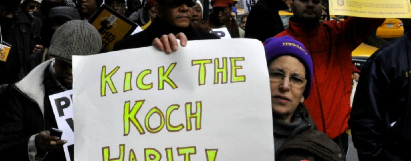 Backfire for Koch Brothers as Survey Shows Americans Actually Want Free College, $15 Minimum Wage, and Medicare for All