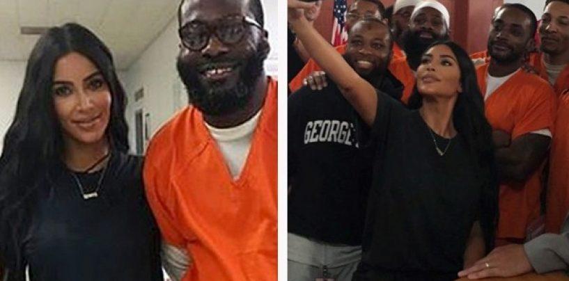 How Kim Kardashian Helps Innocent Black Prisoners is a Problem
