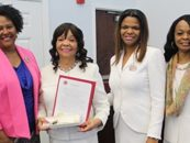 First Lady of Livingstone College Presented Key to the City of Salisbury, North Carolina