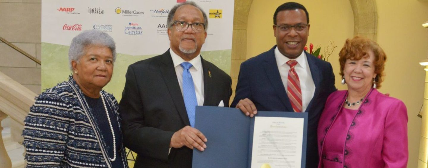 Norfolk's First Black Mayor Kenneth Alexander Declares 'Black Press of America Week'