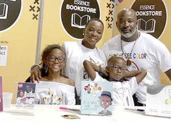 "Father and Daughter ""Rock the Crown"" at Essence Music Festival"