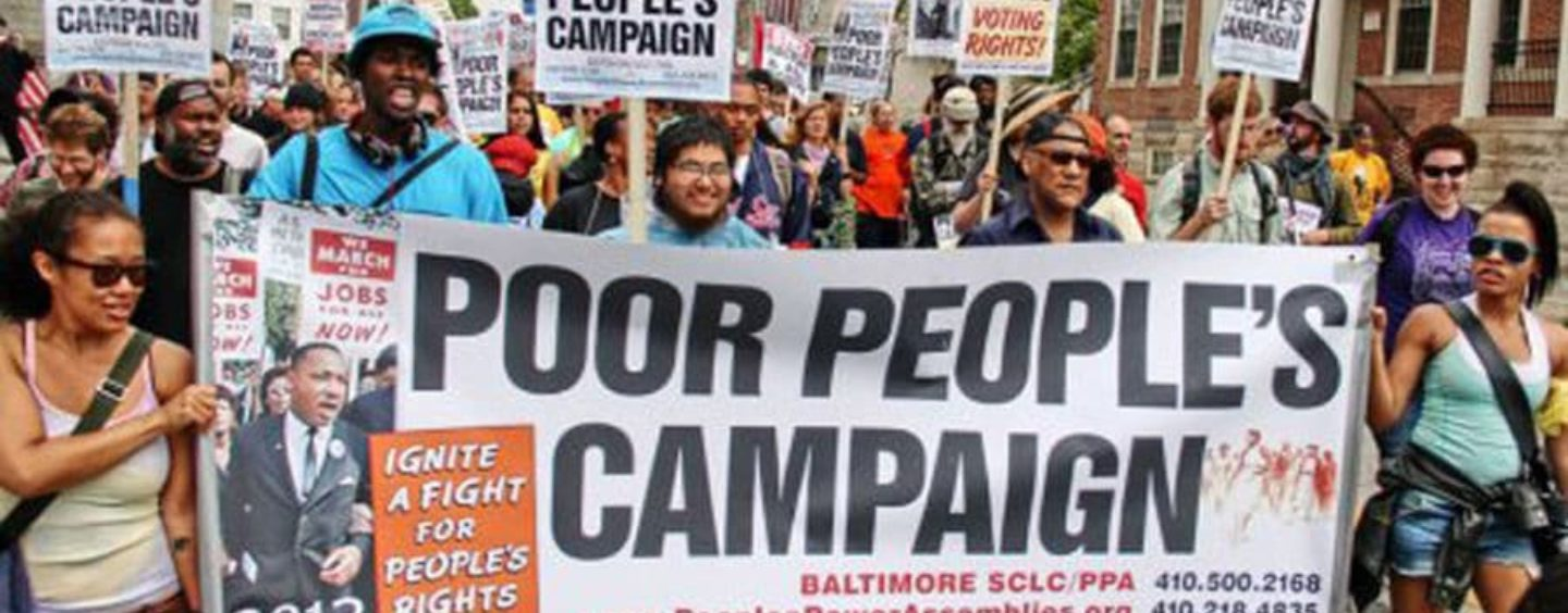 Welcome to The Poor People's Campaign: A National Call for Moral Revival