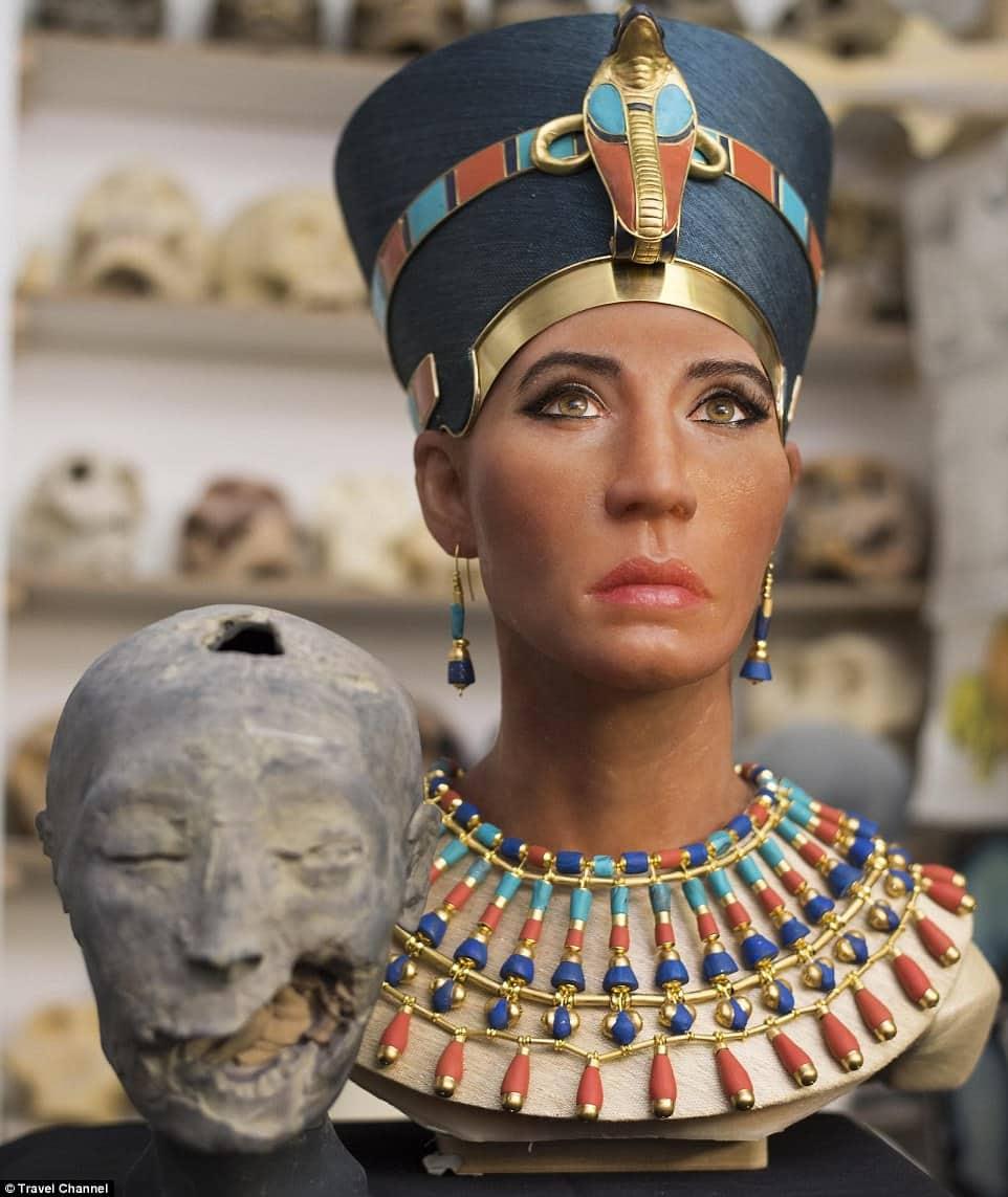 Queen Nefertiti.