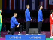 US Gold Medalists Gwen Berry and Race Imboden Protest Trump Racism and Gun Violence Epidemic