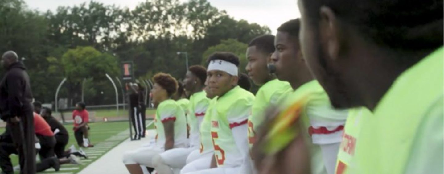 Maryland's Red Storm Takes a Knee