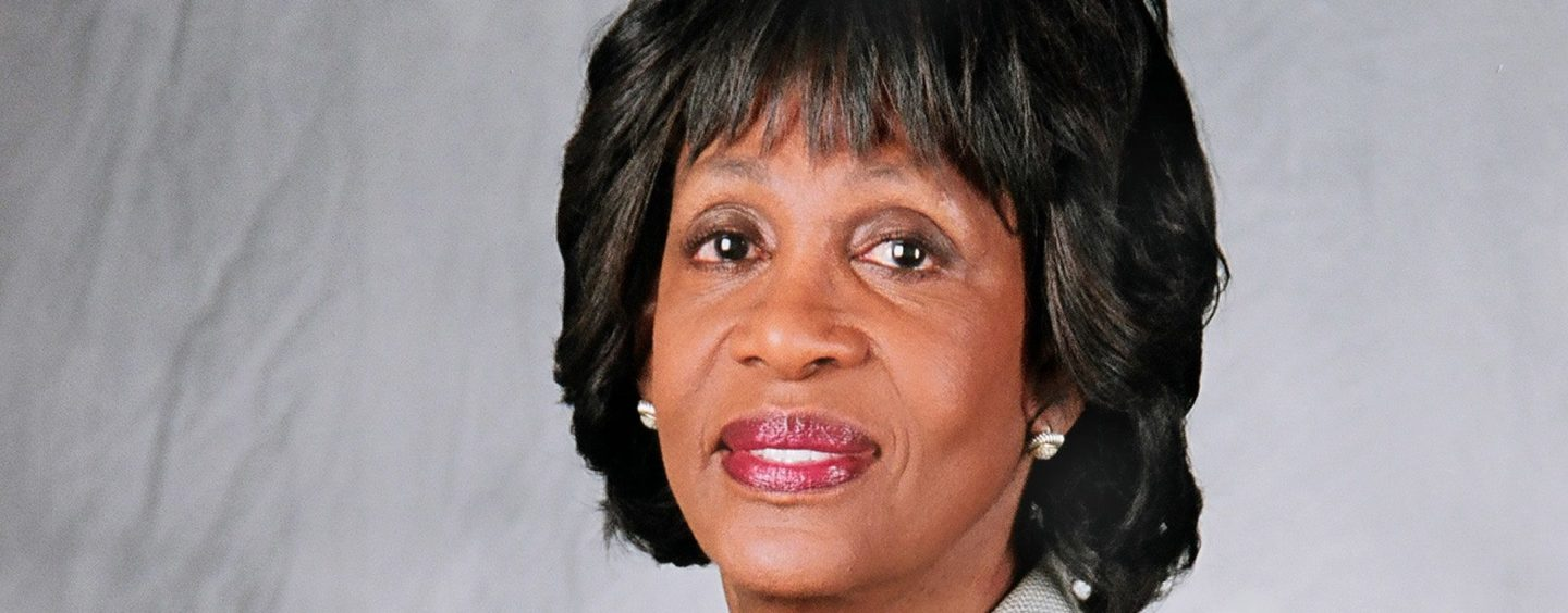 """TIME Magazine Says Congresswoman Maxine Waters Is """"One of the Most Influential People in the World"""""""