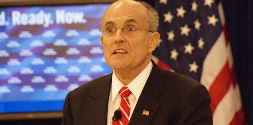 DC Courts Suspends Rudy Giuliani's Law License