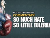 Political Rivalry: So Much Hate; So Little Tolerance – Will Elected Officials Come to Their Senses