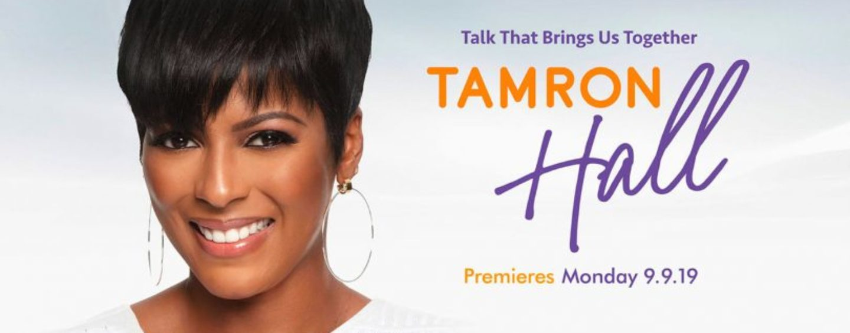 The Tamron Hall Show Debuts – America's News Sweetheart Returns