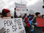 Teacher Protest – Rising Up as West Virginia Strike Hits Eighth Day
