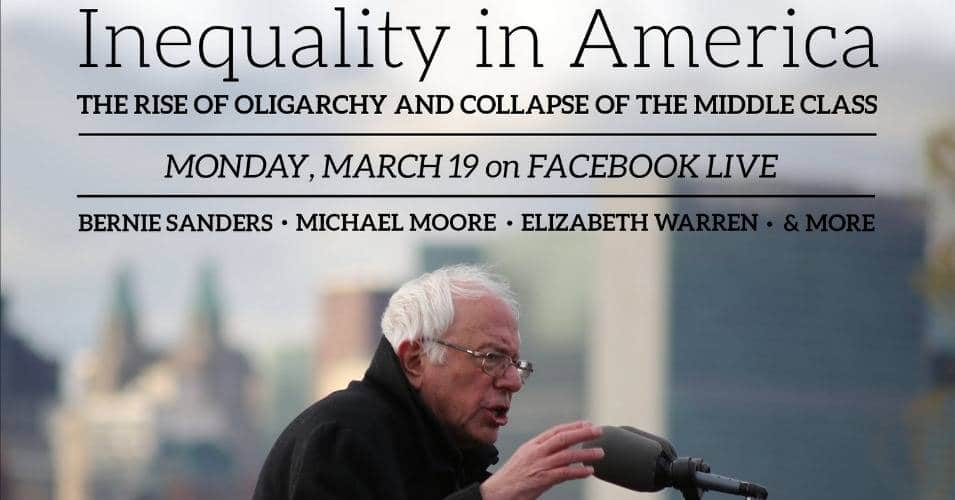 town hall focusing on inequality