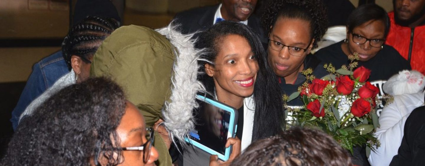 Tracie Hunter Released Early and Still Strong, Still Standing