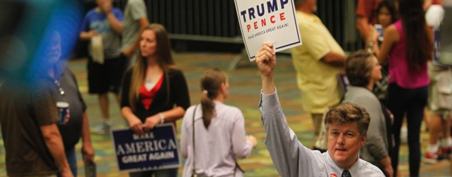 Quit Playin': Trump Voters Must Re-Apply!