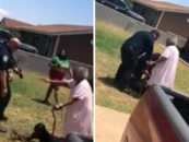 90-Year Old Grandmother Steps in as Texas Police Officers Point Guns at Her Grandson
