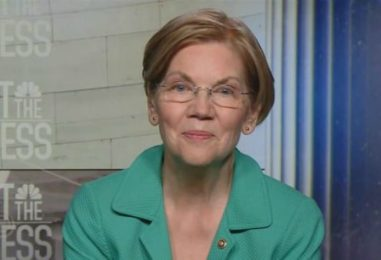 Against #BankLobbyistAct, #ShePersisted: Warren Asks 'How Can Any Senator Vote for That?'