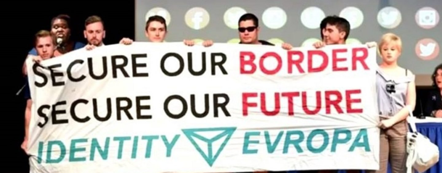 """Identity Evropa White Supremacist Threat:  """"You will not replace us"""""""