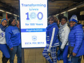 Zeta Phi Beta Sorority Marks Centennial Week with Commemoration and Community Service